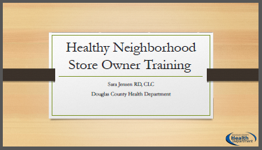 Store Owner Training