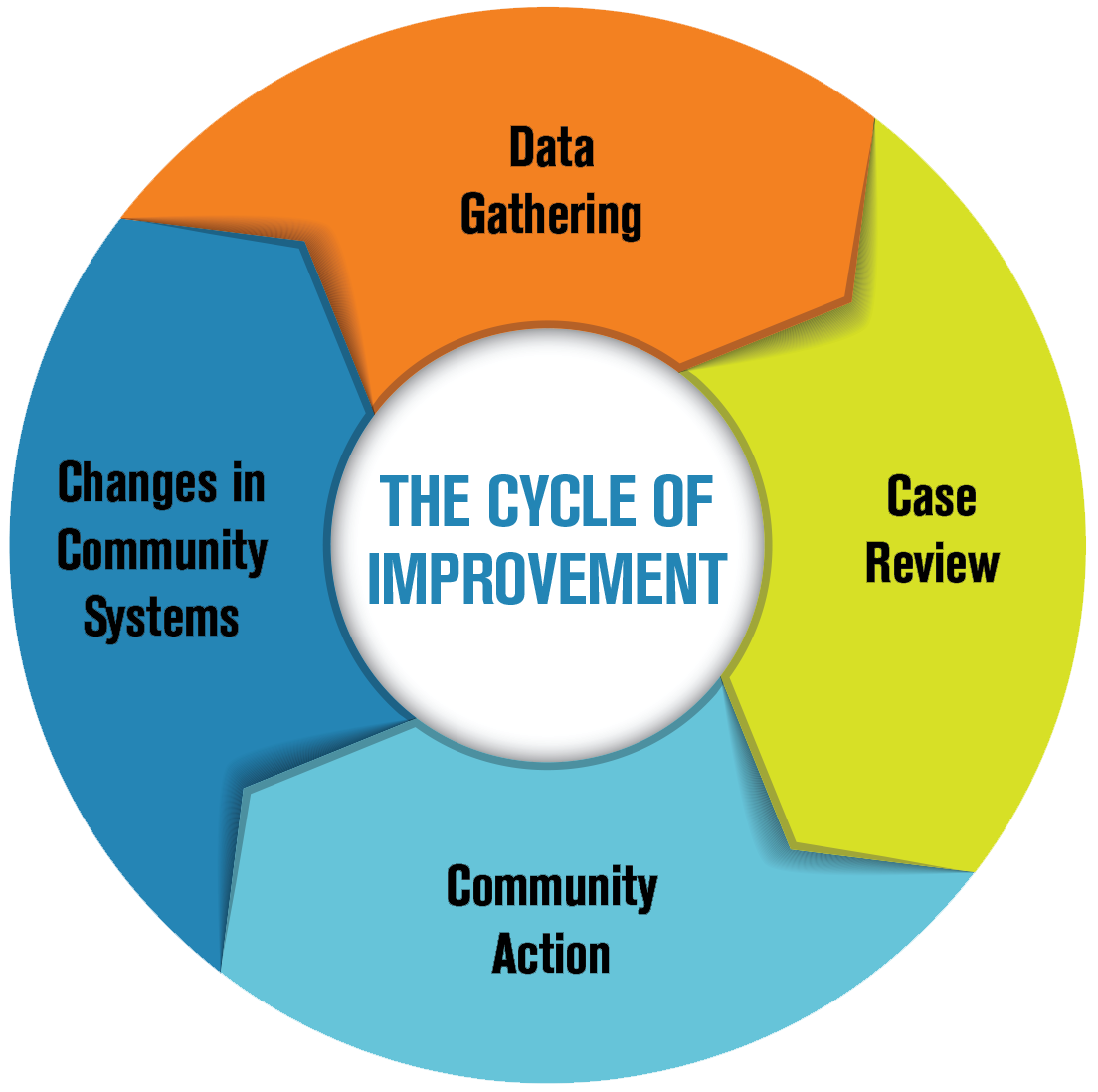 National FIMR cycle of improvement Black text